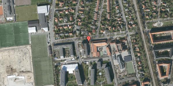 Oversvømmelsesrisiko fra vandløb på Troels-Lunds Vej 19, 2000 Frederiksberg