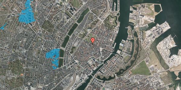 Oversvømmelsesrisiko fra vandløb på Vognmagergade 8, 3. , 1120 København K