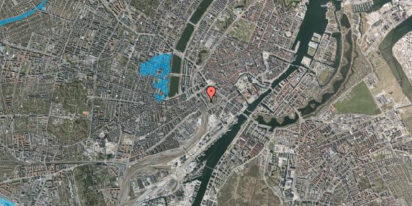 Oversvømmelsesrisiko fra vandløb på Bernstorffsgade 7, 1577 København V