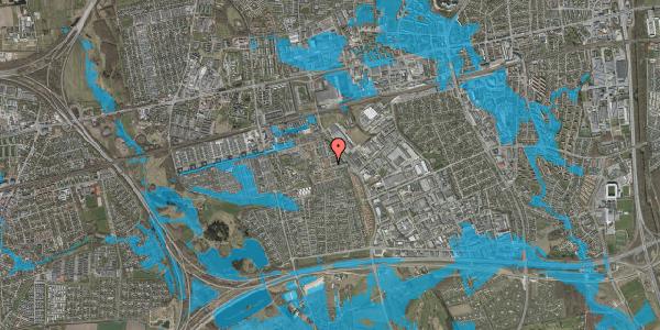 Oversvømmelsesrisiko fra vandløb på Promenaden 7, 2625 Vallensbæk