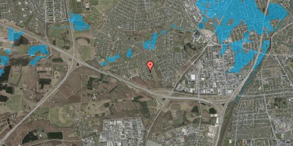 Oversvømmelsesrisiko fra vandløb på Kamillevænget 47, 2600 Glostrup
