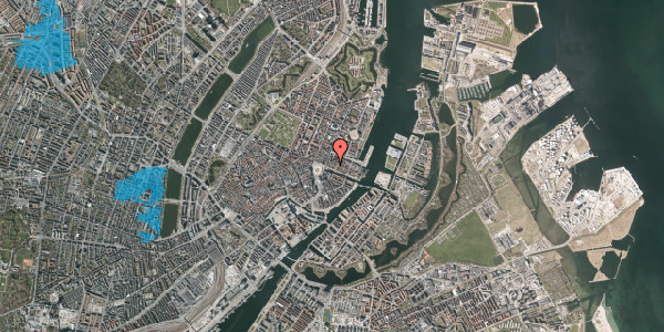 Oversvømmelsesrisiko fra vandløb på Nyhavn 11B, 4. 2, 1051 København K