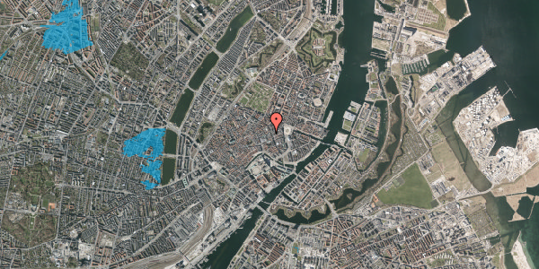Oversvømmelsesrisiko fra vandløb på Pilestræde 12C, 1112 København K