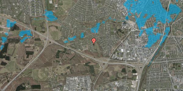 Oversvømmelsesrisiko fra vandløb på Kamillevænget 16, 2600 Glostrup