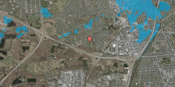 Oversvømmelsesrisiko fra vandløb på Kamillevænget 53, 2600 Glostrup