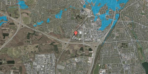 Oversvømmelsesrisiko fra vandløb på Ejby Industrivej 29, 2600 Glostrup