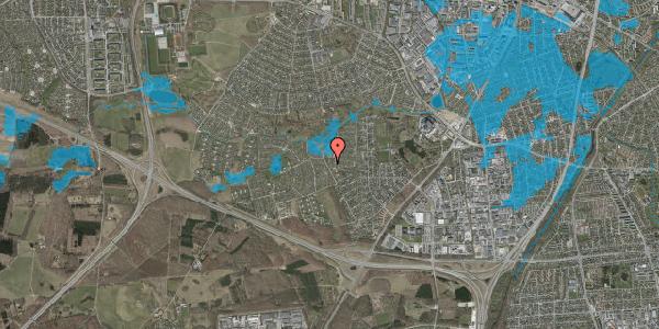 Oversvømmelsesrisiko fra vandløb på Vængedalen 9, 2600 Glostrup