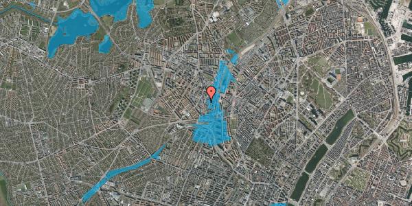 Oversvømmelsesrisiko fra vandløb på Hejrevej 33A, 2400 København NV