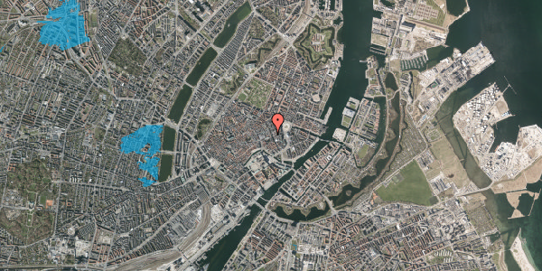 Oversvømmelsesrisiko fra vandløb på Østergade 27, 1100 København K