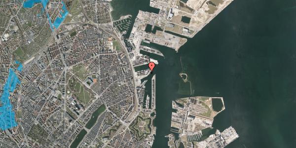 Oversvømmelsesrisiko fra vandløb på Marmorvej 24, 2100 København Ø
