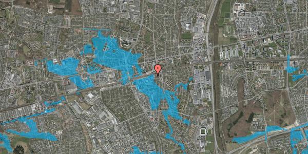 Oversvømmelsesrisiko fra vandløb på Stationstorvet 1A, 2600 Glostrup