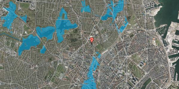 Oversvømmelsesrisiko fra vandløb på Tagensvej 196, 2400 København NV