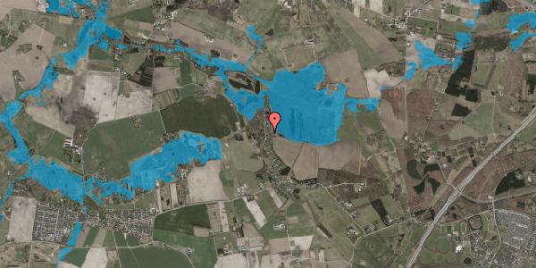 Oversvømmelsesrisiko fra vandløb på Solager 70, 2630 Taastrup