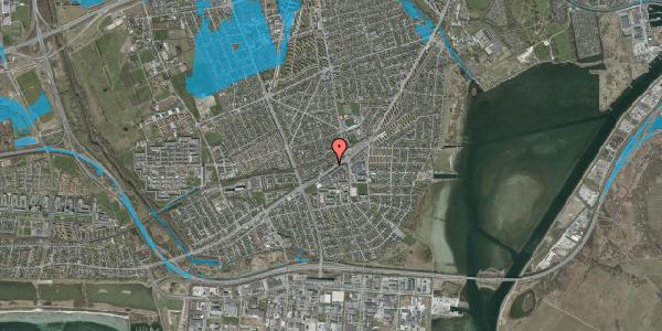 Oversvømmelsesrisiko fra vandløb på Gammel Køge Landevej 376H, 1. , 2650 Hvidovre