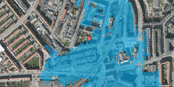 Oversvømmelsesrisiko fra vandløb på Glentevej 10, 4. 3, 2400 København NV