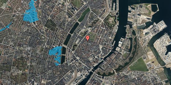 Oversvømmelsesrisiko fra vandløb på Hausergade 3, 5. th, 1128 København K