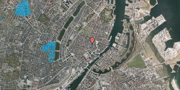 Oversvømmelsesrisiko fra vandløb på Pilestræde 8, 1. , 1112 København K