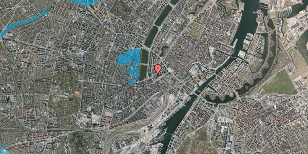 Oversvømmelsesrisiko fra vandløb på Meldahlsgade 6, 1613 København V