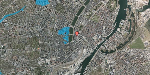 Oversvømmelsesrisiko fra vandløb på Nyropsgade 43, 1. , 1602 København V