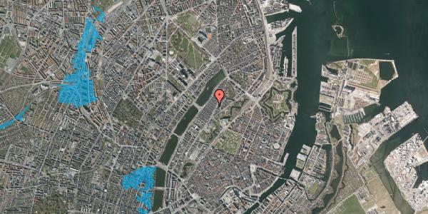 Oversvømmelsesrisiko fra vandløb på Abildgaardsgade 4, 2100 København Ø