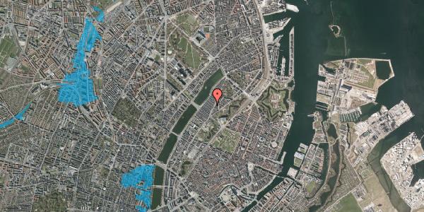 Oversvømmelsesrisiko fra vandløb på Abildgaardsgade 6, st. , 2100 København Ø