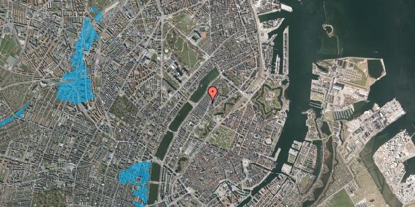 Oversvømmelsesrisiko fra vandløb på Abildgaardsgade 8, 2100 København Ø