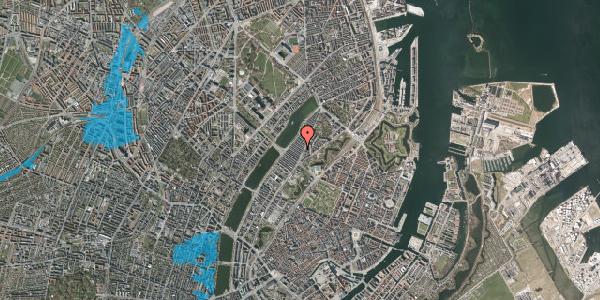 Oversvømmelsesrisiko fra vandløb på Abildgaardsgade 9, 2100 København Ø