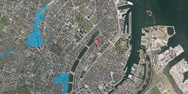 Oversvømmelsesrisiko fra vandløb på Abildgaardsgade 13, 2100 København Ø