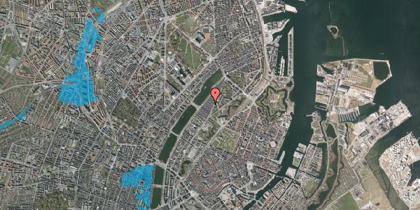 Oversvømmelsesrisiko fra vandløb på Abildgaardsgade 18, 1. , 2100 København Ø