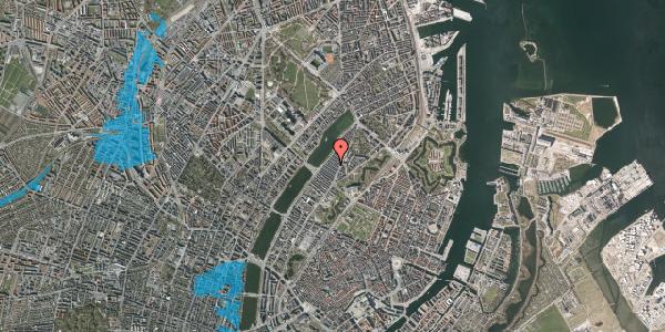 Oversvømmelsesrisiko fra vandløb på Abildgaardsgade 24, 2100 København Ø