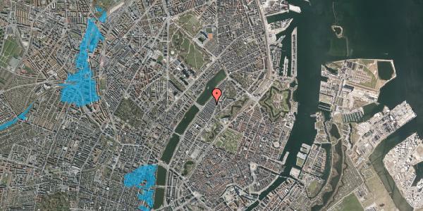 Oversvømmelsesrisiko fra vandløb på Abildgaardsgade 25, 2100 København Ø