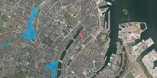 Oversvømmelsesrisiko fra vandløb på Abildgaardsgade 26, 2100 København Ø