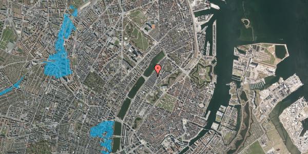 Oversvømmelsesrisiko fra vandløb på Abildgaardsgade 27, 2100 København Ø