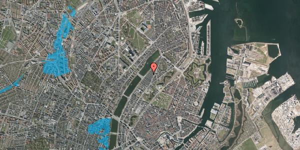 Oversvømmelsesrisiko fra vandløb på Abildgaardsgade 28, 2100 København Ø