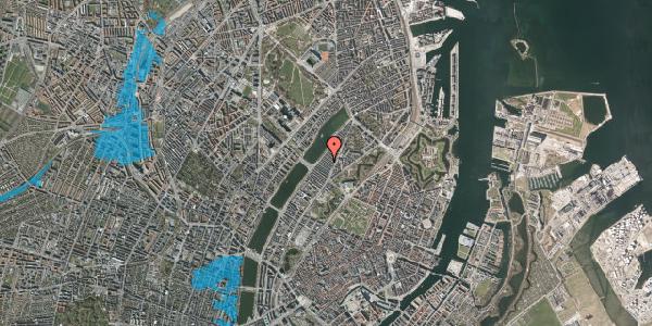 Oversvømmelsesrisiko fra vandløb på Abildgaardsgade 29, 2100 København Ø