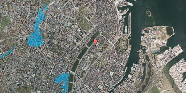 Oversvømmelsesrisiko fra vandløb på Abildgaardsgade 31, 2100 København Ø