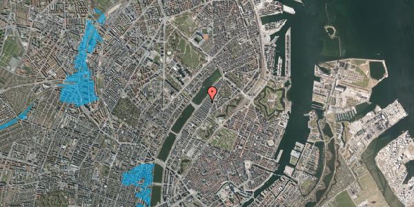 Oversvømmelsesrisiko fra vandløb på Abildgaardsgade 32, 2100 København Ø