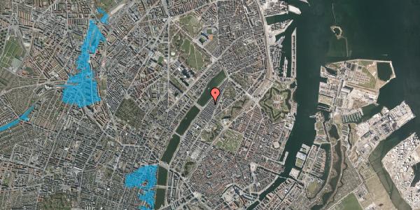 Oversvømmelsesrisiko fra vandløb på Abildgaardsgade 39, 2100 København Ø