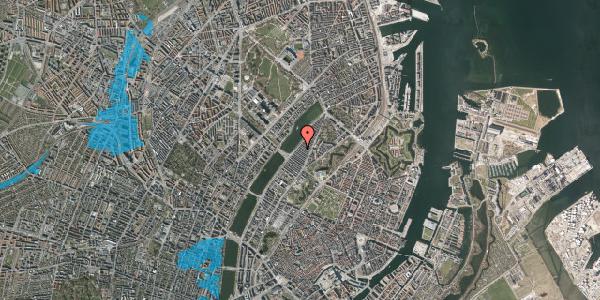 Oversvømmelsesrisiko fra vandløb på Abildgaardsgade 40, 2100 København Ø