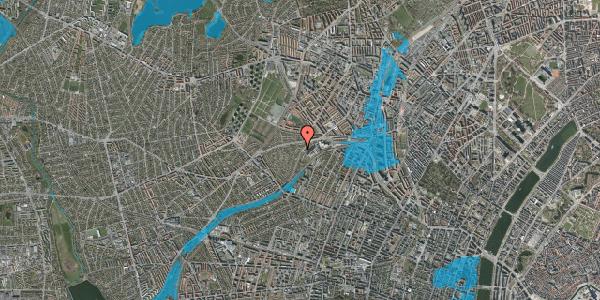 Oversvømmelsesrisiko fra vandløb på Abrikosvej 2, 2400 København NV