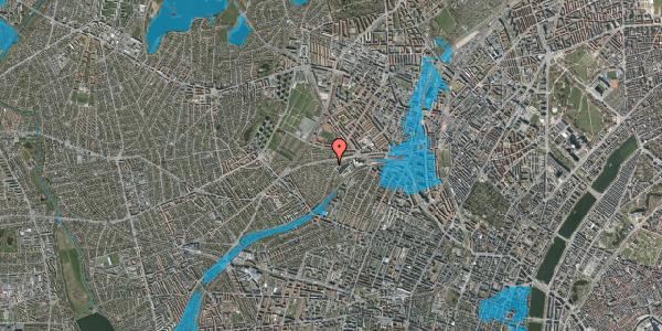 Oversvømmelsesrisiko fra vandløb på Abrikosvej 5, 2400 København NV