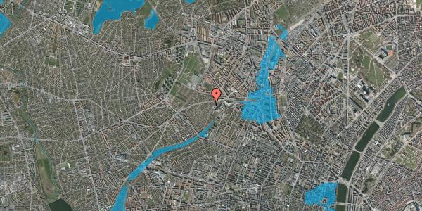 Oversvømmelsesrisiko fra vandløb på Abrikosvej 7, 2400 København NV