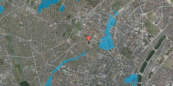 Oversvømmelsesrisiko fra vandløb på Abrikosvej 9, 2400 København NV