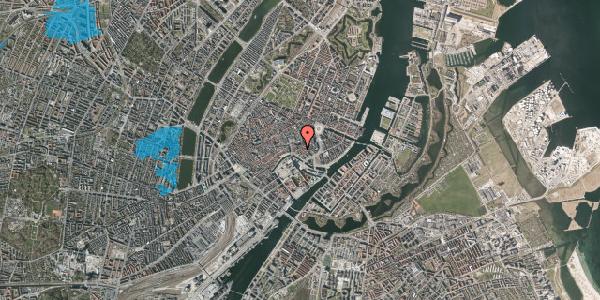 Oversvømmelsesrisiko fra vandløb på Admiralgade 15, 1. tv, 1066 København K