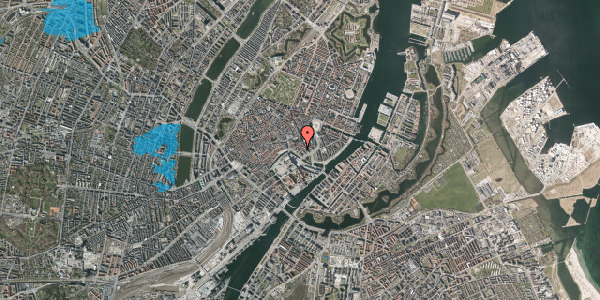 Oversvømmelsesrisiko fra vandløb på Admiralgade 23, st. tv, 1066 København K