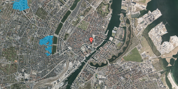 Oversvømmelsesrisiko fra vandløb på Admiralgade 28, 1. , 1066 København K