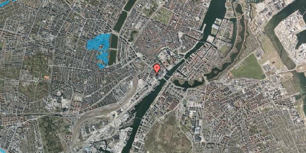 Oversvømmelsesrisiko fra vandløb på Anker Heegaards Gade 8, 4. tv, 1572 København V