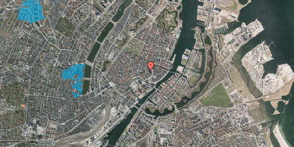 Oversvømmelsesrisiko fra vandløb på Asylgade 4, st. tv, 1064 København K