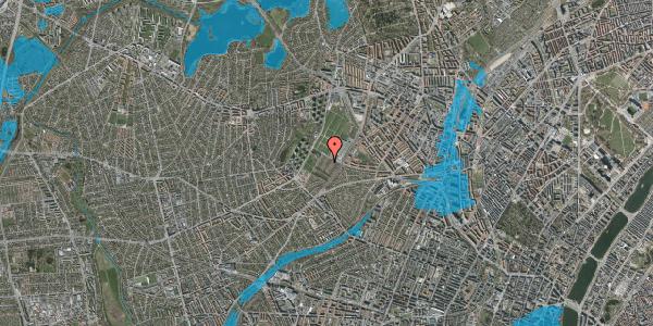 Oversvømmelsesrisiko fra vandløb på Bakkevej 36, 2400 København NV