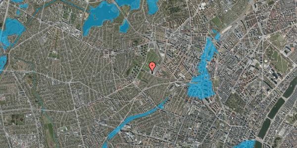 Oversvømmelsesrisiko fra vandløb på Bakkevej 48, 2400 København NV